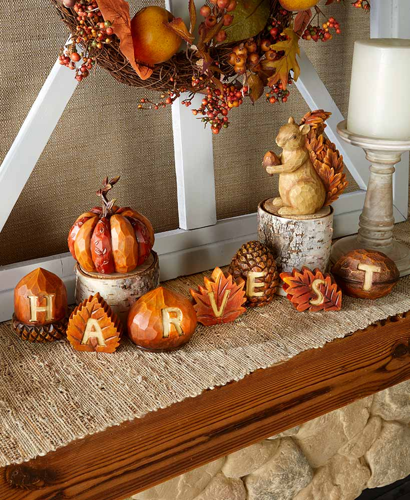 Harvest Tabletop Decor Collection