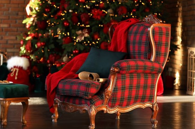 Reupholster Your Furniture With Plaid