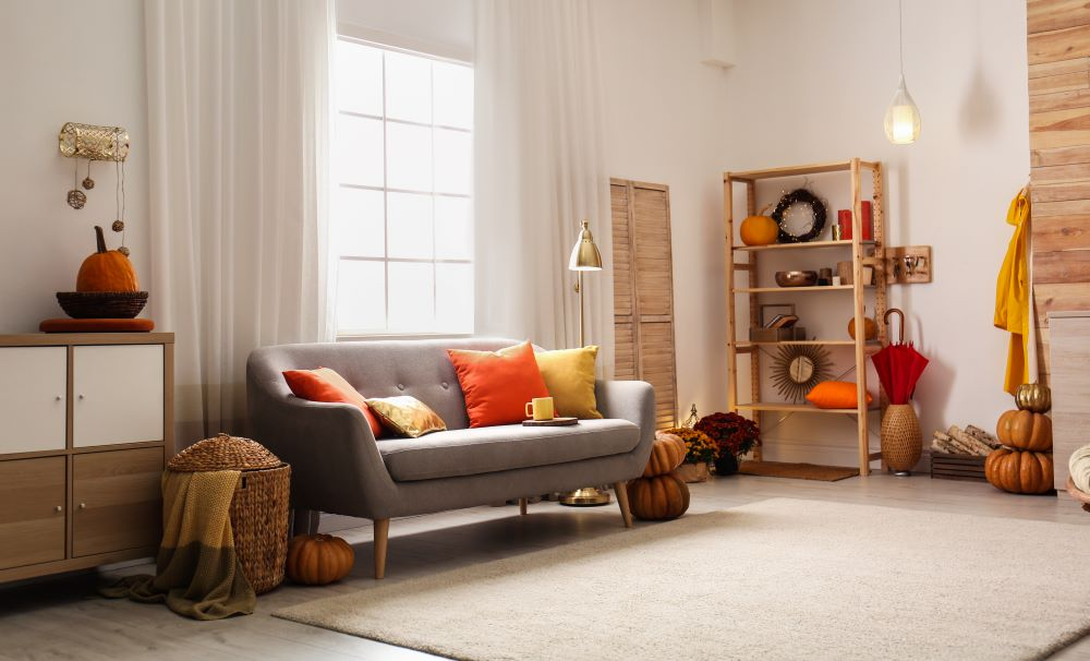 Decorating For Fall - Use Warm Colors