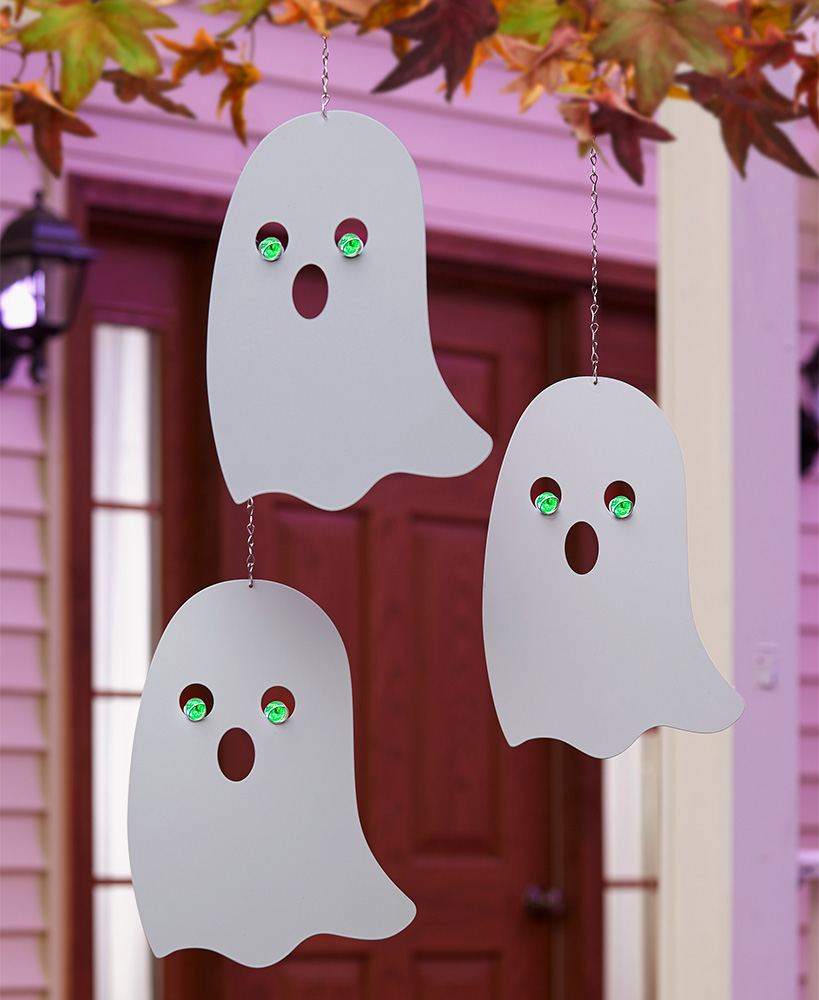 Halloween Character Decor - Glow-in-the-Dark Ghosts
