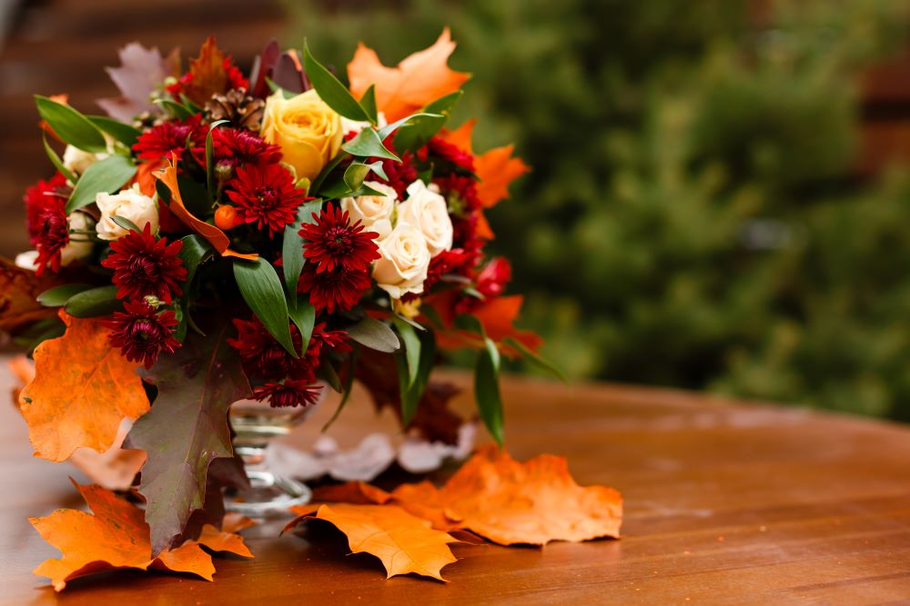 Decorating For Fall - Fall Foliage
