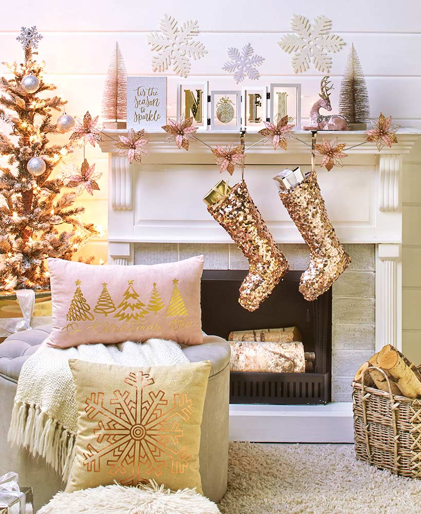 Holiday Sparkle Decor Collection