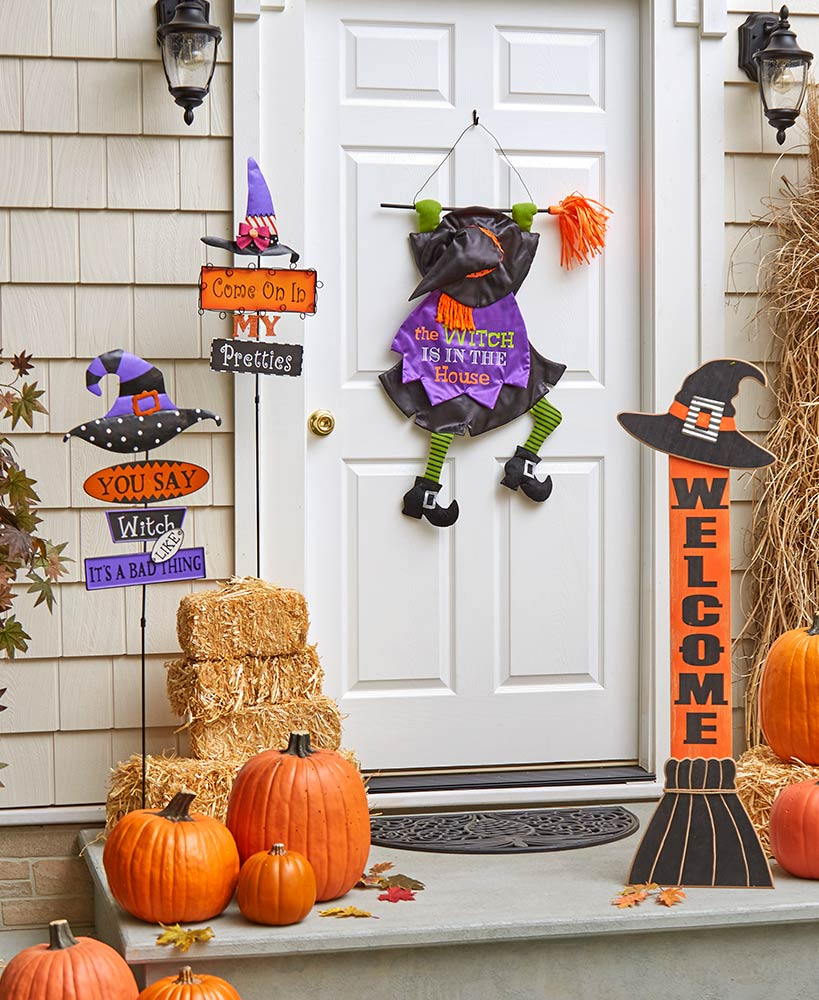 Halloween Character Decor - Welcoming Witch Decor