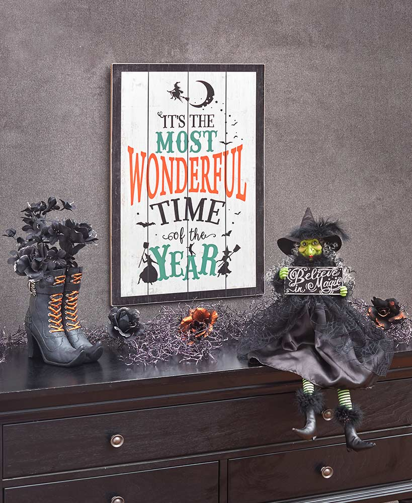Halloween Character Decor - Witches' Favorite Time of Year Collection