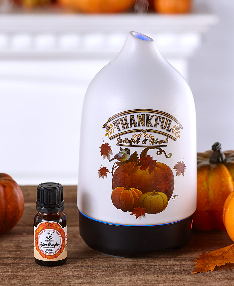 Harvest Holiday Diffuser with Fragrance Oil