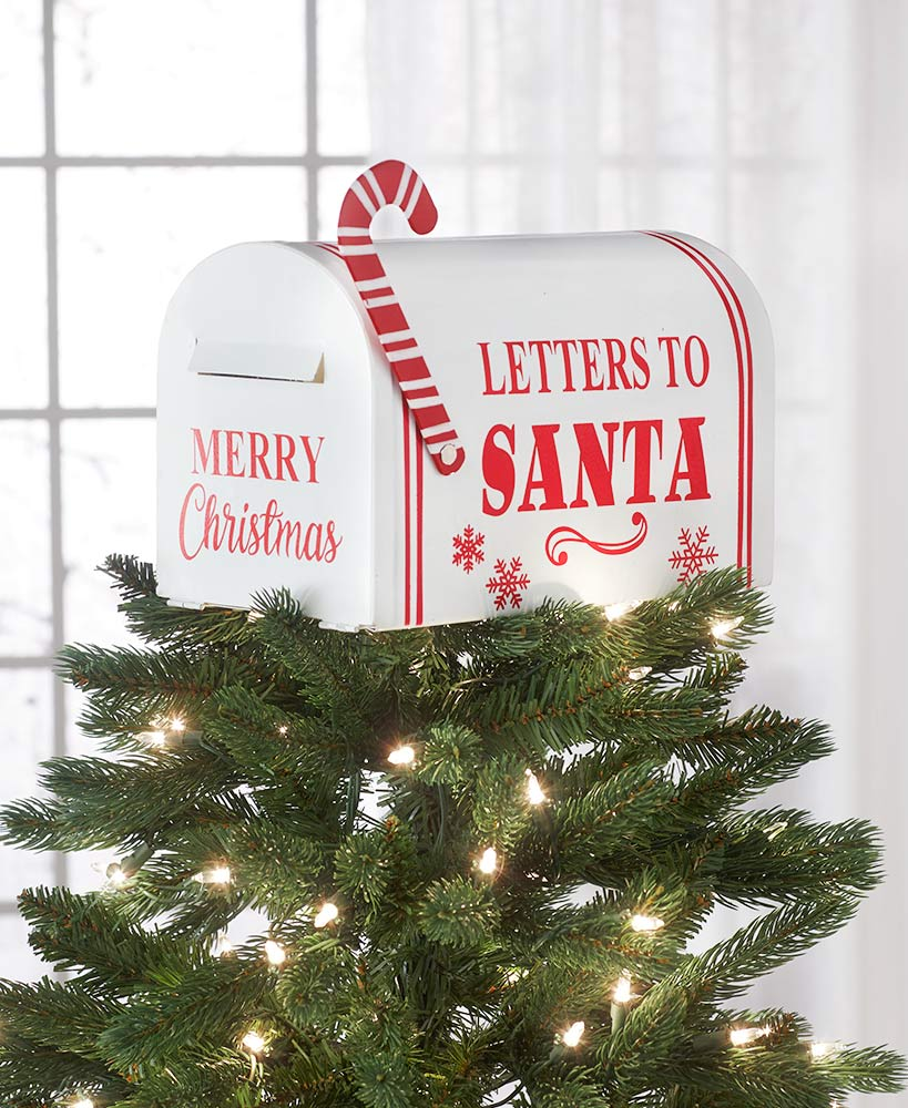 Letters to Santa Mailbox Tree Topper