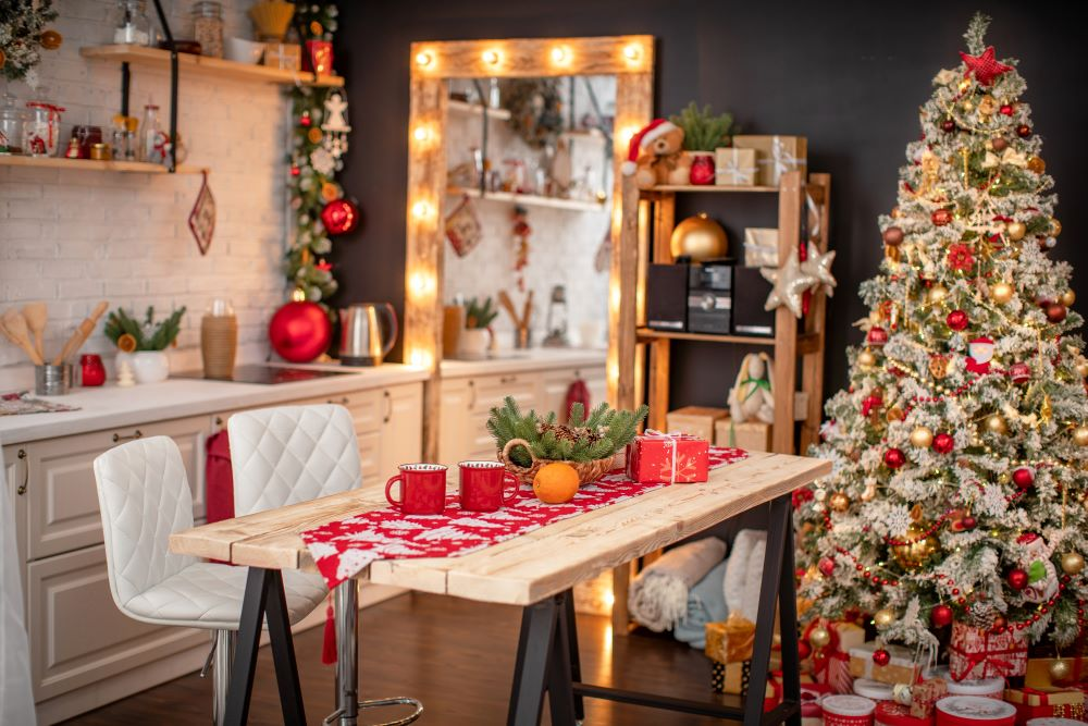 7 Christmas Decorating Ideas For Your Kitchen The Lakeside Collection
