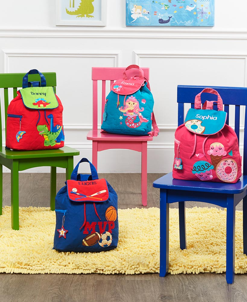 Personalized Kids' Quilted Backpacks