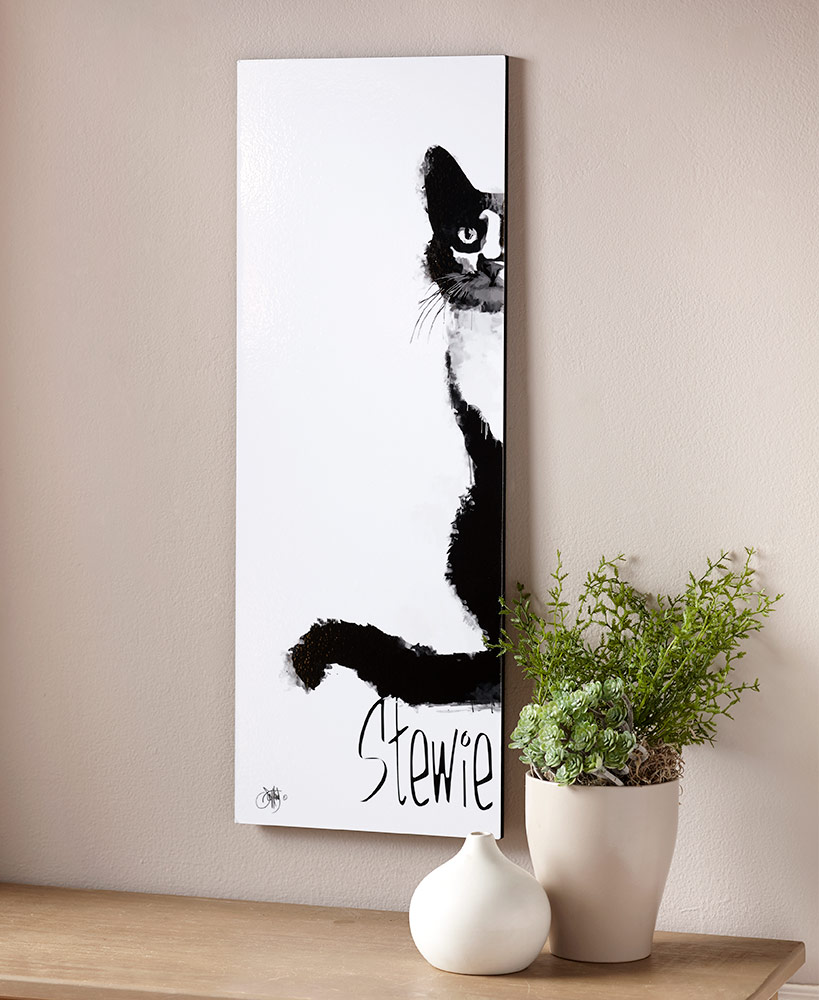 christmas gift ideas for cat lovers - My Cat Personalized Wall Art