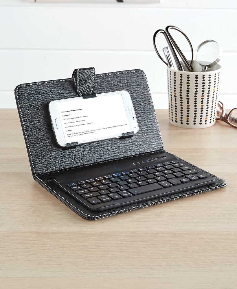 Phone/Tablet Keyboard with Cover