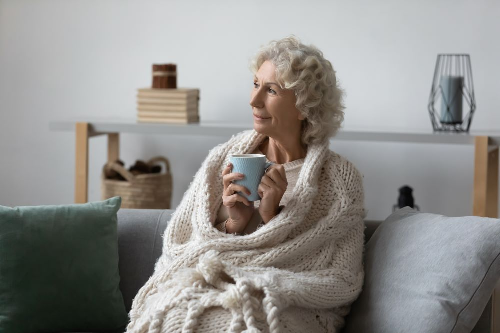 Wrap Yourself In Blankets To Save On Heating Costs