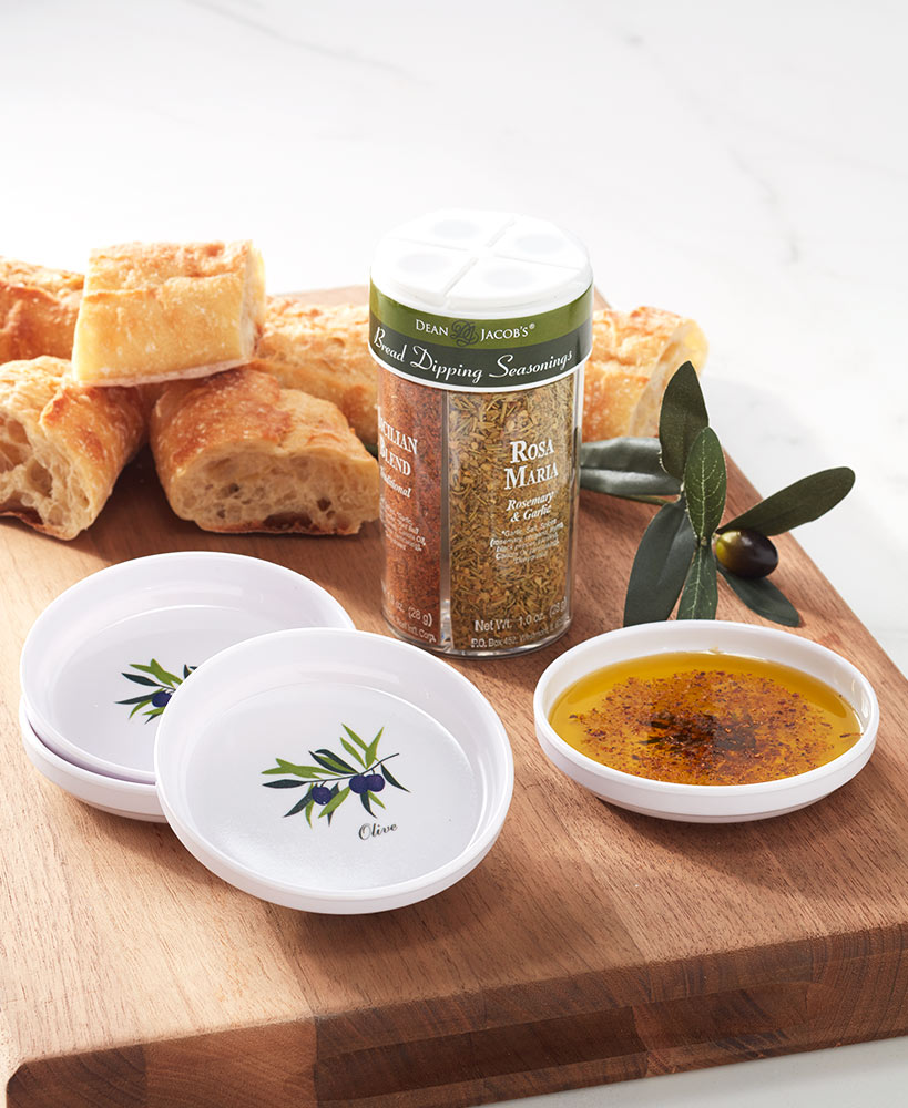 secret santa ideas for coworkers - Bread-Dipping Seasonings and Dishes