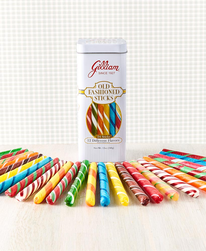 secret santa ideas for coworkers - 24-Pc. Old Fashioned Candy Sticks in Tin