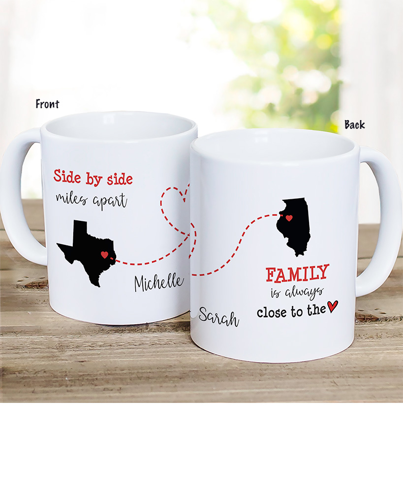 personalized christmas gifts for grandparents - Personalized Close to the Heart Coffee Mug