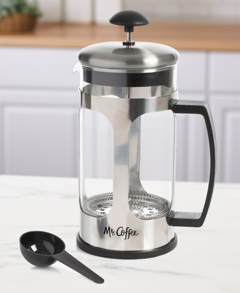Mr. Coffee™ 30-oz. Coffee Press with Scoop