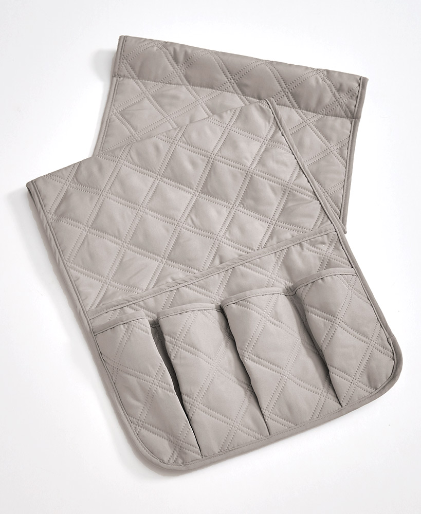 Living room organization ideas - Quilted Arm Rest Organizers