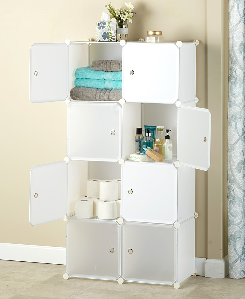 Easy Assembly Storage Cube Cabinets