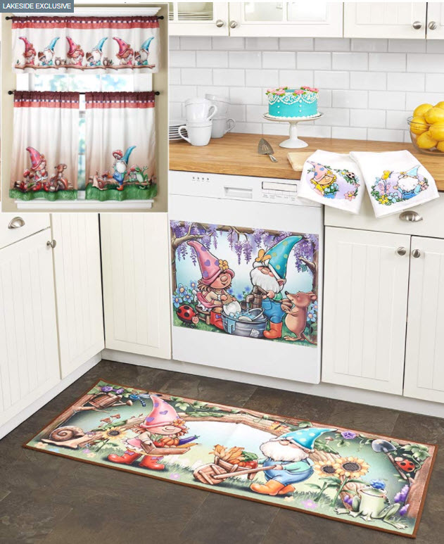 Spring Gnome Kitchen Collection