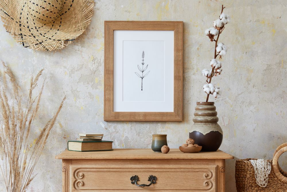 How To Decorate Your Dresser -Add A tall Decoration