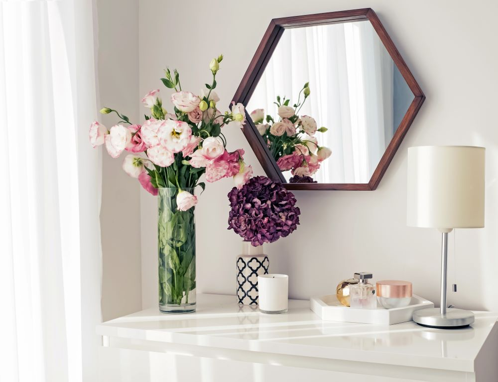 Add A Tray To Your Dresser