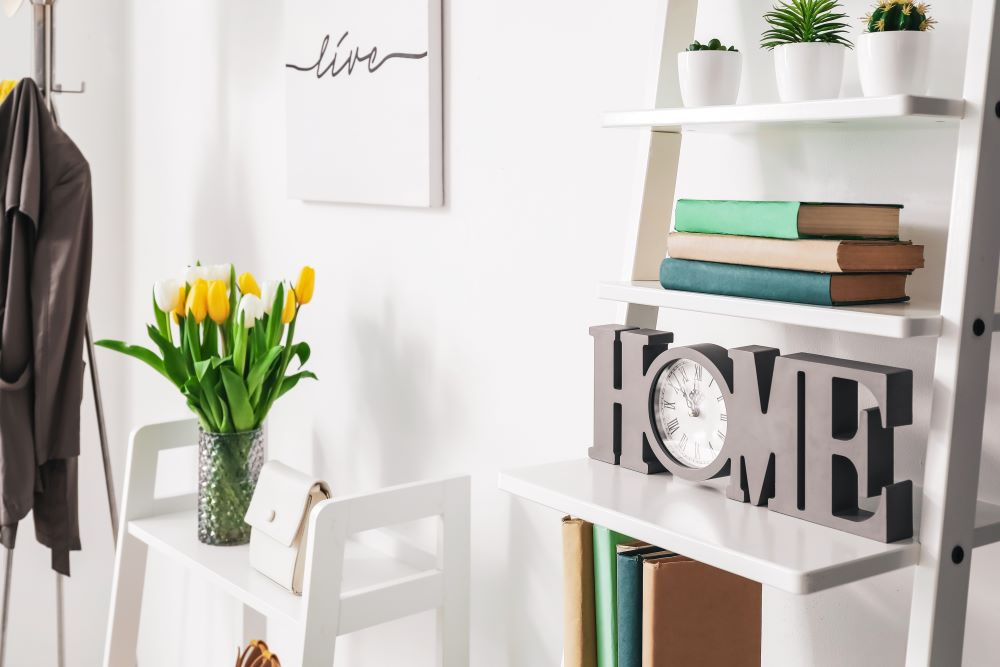 Decorate For Spring on A Budget - faux flowers