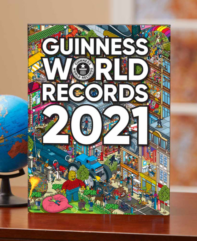 Affordable Easter Basket Stuffers - 2021 Guinness World Records Book