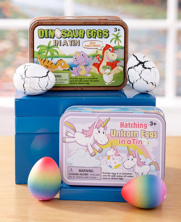 Affordable Easter Basket Stuffers - Hatch and Grow Kit in a Tin