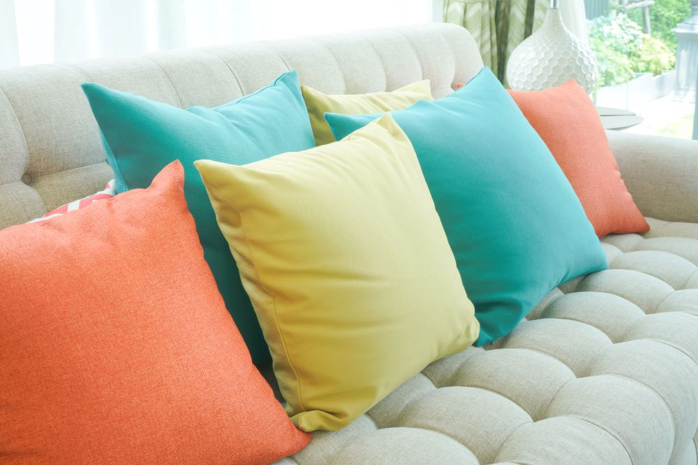 Decorate For Spring on A Budget - spring colored accents