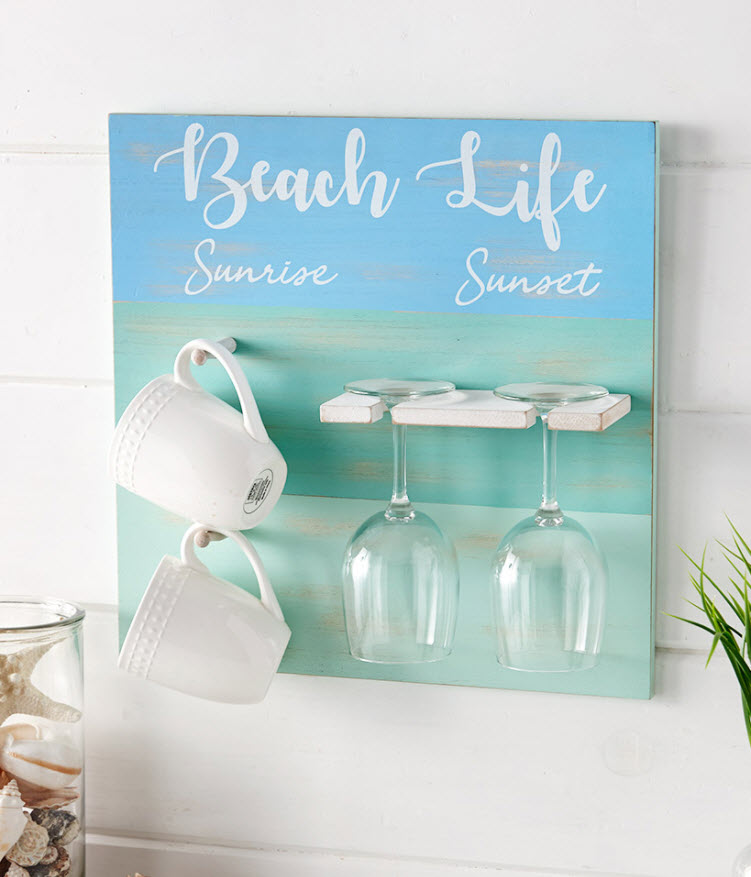 From Sunrise to Sunset Coffee and Wine Decor