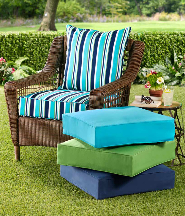 2-Pc. Outdoor Seat Cushion Sets