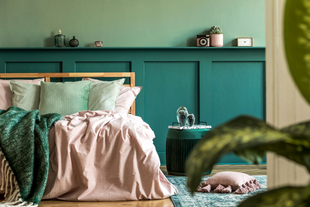 choose a color palette for your bedroom - colors based on moods