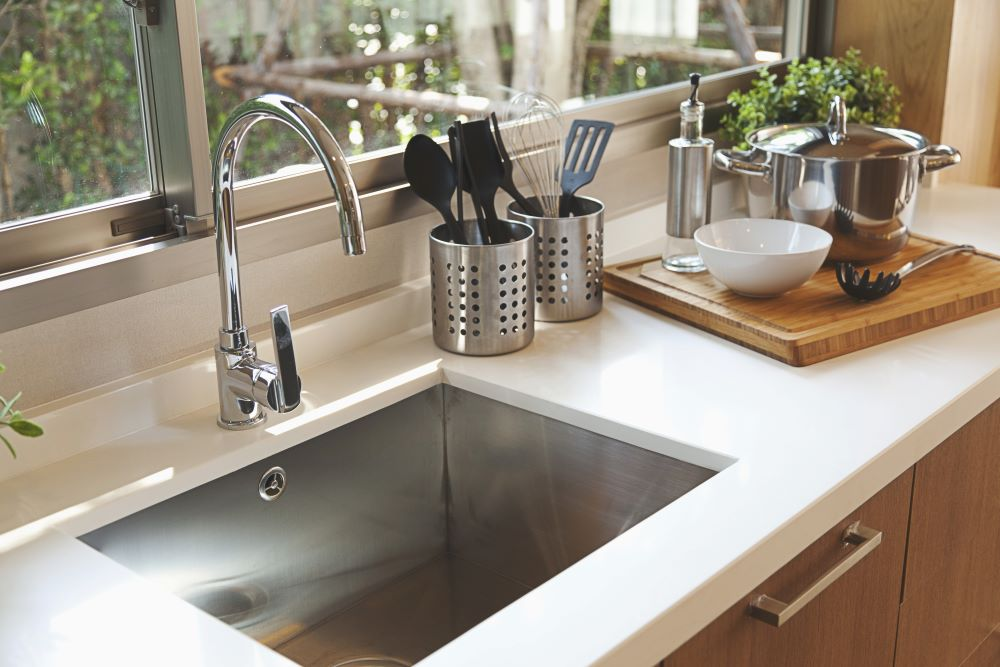 Affordable Kitchen Makeover Ideas - new kitchen faucet
