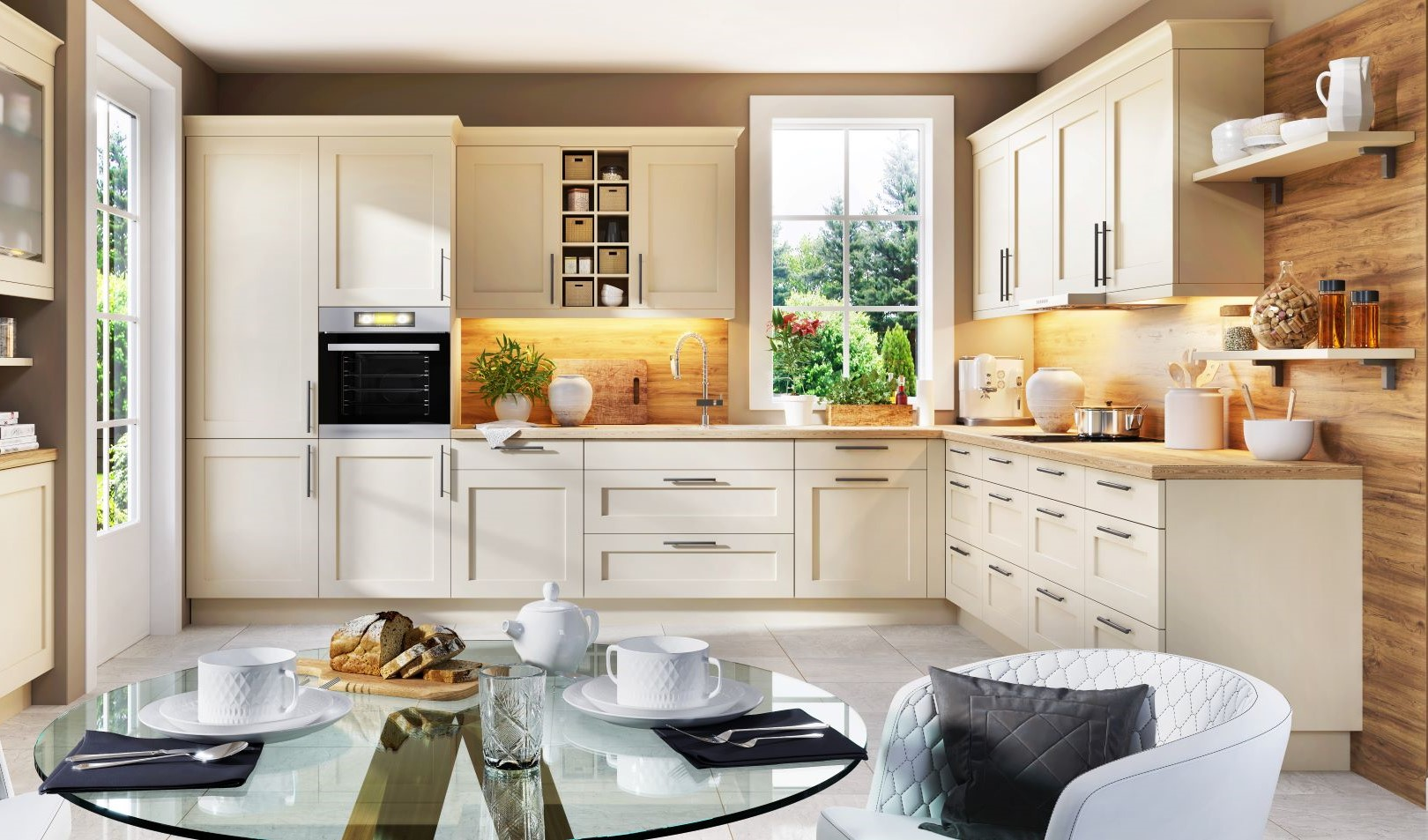How To mix Decorating Styles - use second style in small doses