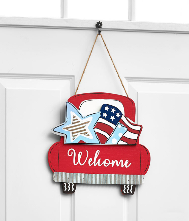 5-Pc. Interchangeable Truck Wall Hanging