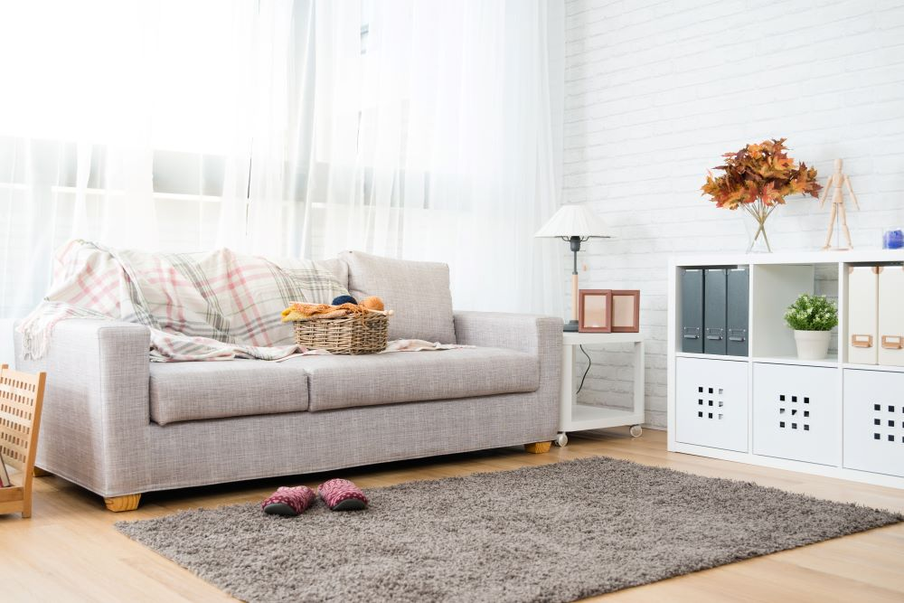 Style Your Living Room On A Budget - use storage cubbies