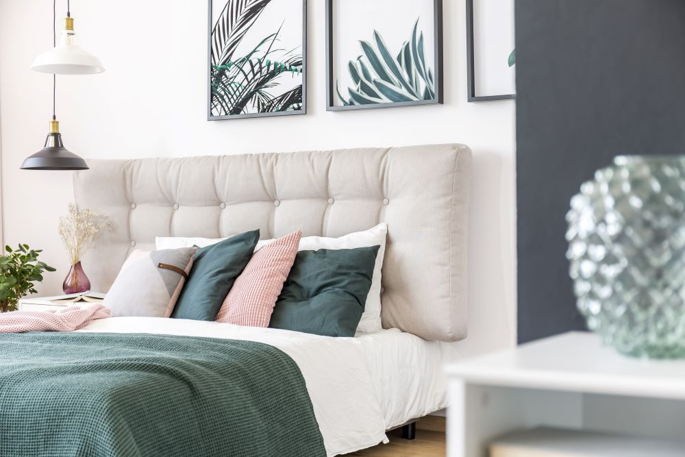 How To Rearrange Your Bedroom For A Cheap Refresh - rearrange wall art and accents