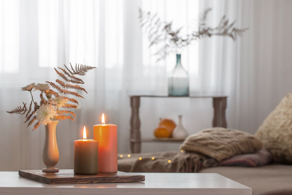 How To Transition Your Home From Summer To Fall - fall candles