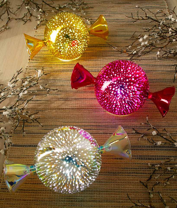 Lighted Glass Candies