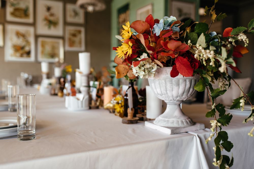 How To Transition Your Home From Summer To Fall - fall flowers