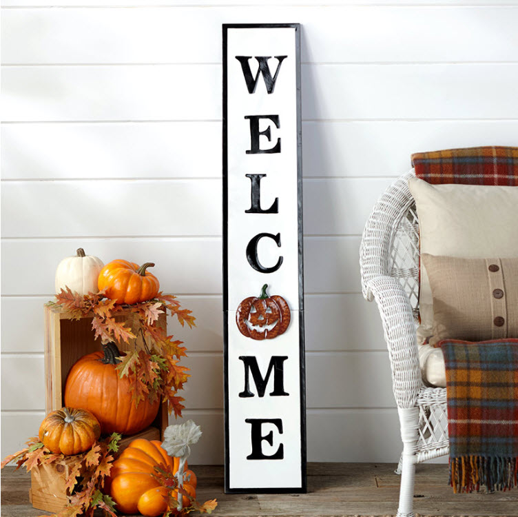 9-Pc. Interchangeable Welcome Sign