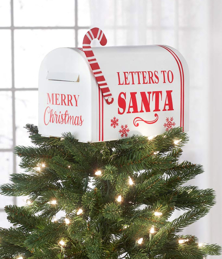 christmas in july sale - Mailbox Tree Topper