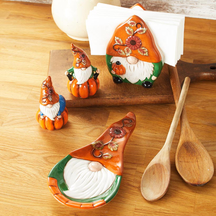 Harvest Gnome Tabletop Collection