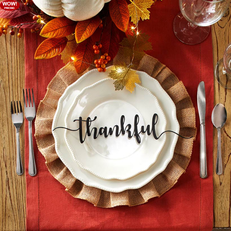 Holiday Place Setting Collection